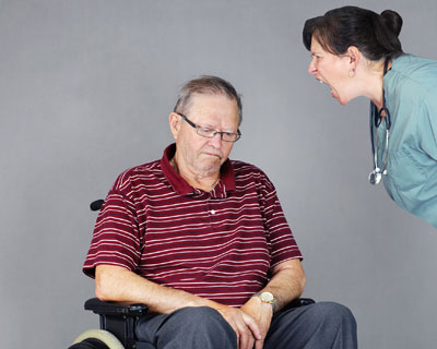 Signs of Elder Abuse by a Caregiver