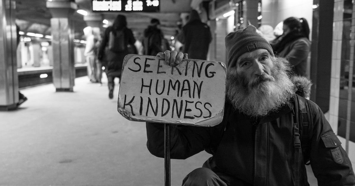 Elderly and Homeless