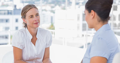 interviewing a private caregiver