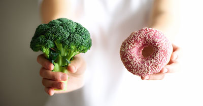 Plant-based vs. processed foods
