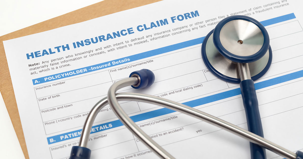 Medicare health insurance claim form