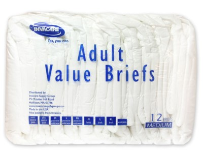 INVACARE Value Briefs Very Economical