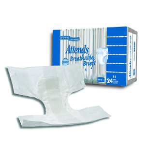 Attends Breathable Briefs for Heavy to Severe Incontinence