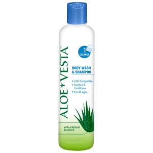 Convatec Aloe Vesta No Rinse Body Wash and Shampoo
