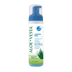 Convatec Aloe Vesta No Rinse Cleansing Foam