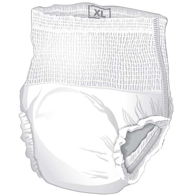 Cardinal Health Underwear for Moderate Incontinence