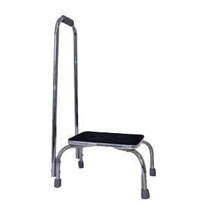 Briggs DMI Non Slip Footstool with Handrail