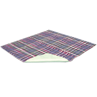 Quik Sorb Plaid Reusable Chair Pad