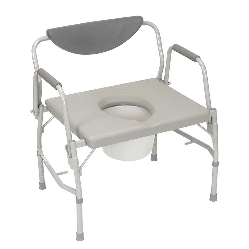 Drive Medical Bariatric Drop Arm Bedside Commode - FG111351-CA