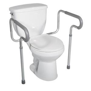 Drive Medical Lightweight Toilet Safety Frame