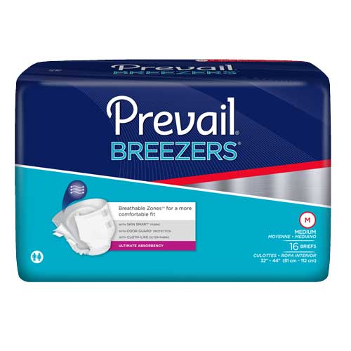 Prevail Breezers Briefs for Severe Incontinence