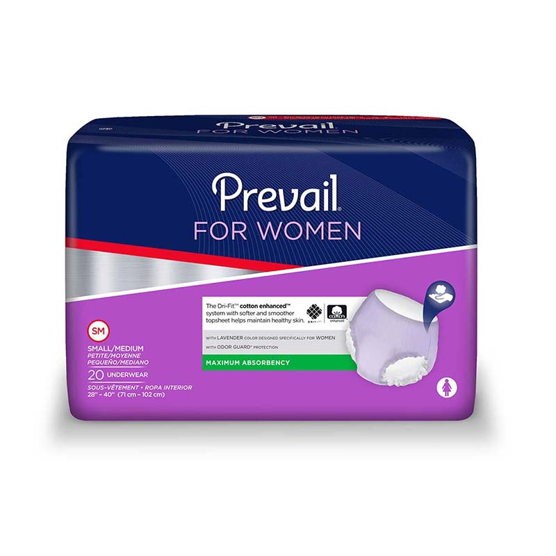 Prevail Womens Underwear for Moderate to Heavy Incontinence