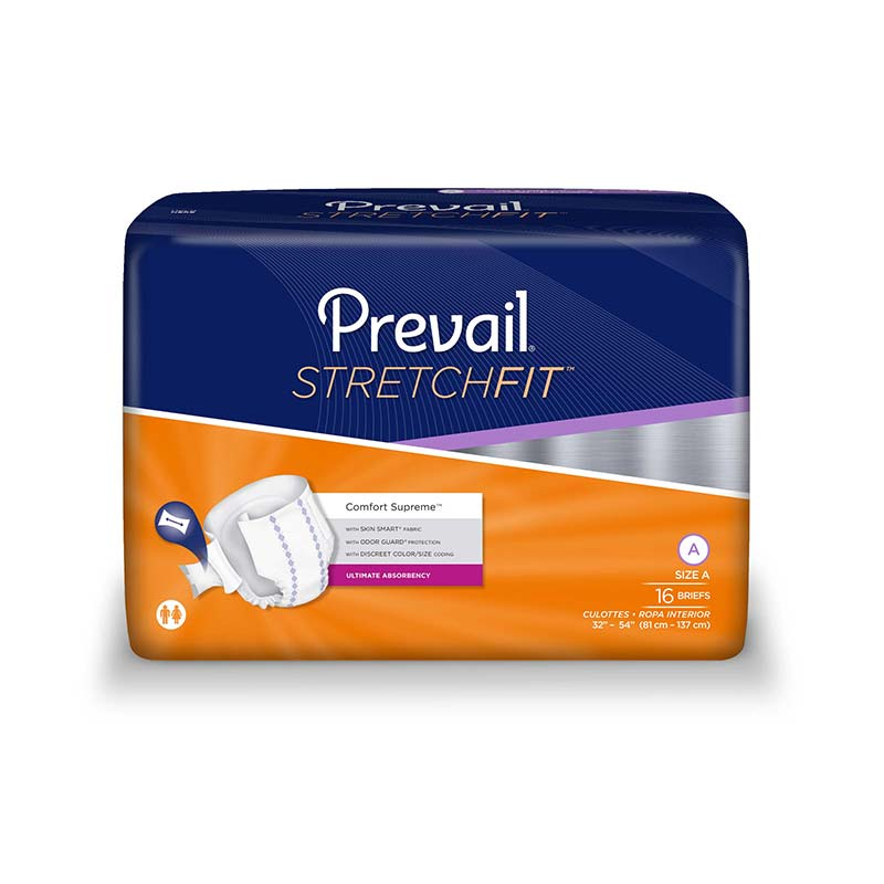 Prevail Stretch Fit Briefs for Severe Incontinence