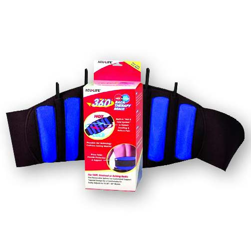 Health Enterprises 360 Hot Cold Therapy Back Brace