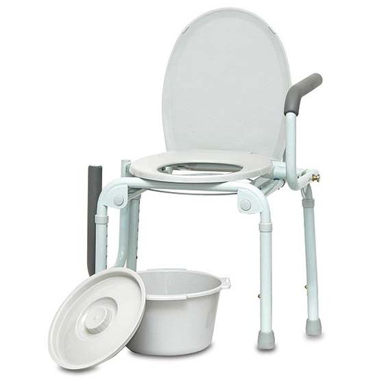 PMI Drop Arm Commode