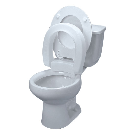 Maddak Hinged Elevated Toilet Seat