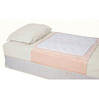 Attends Care Tuckable Disposable Bed Pads Light Absorbency