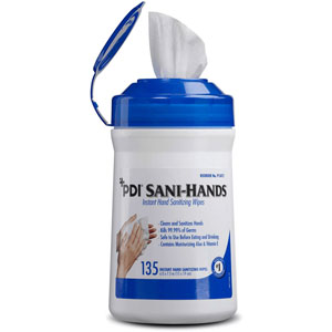PDI Sani Hands Instant Hand Sanitizing Wipe