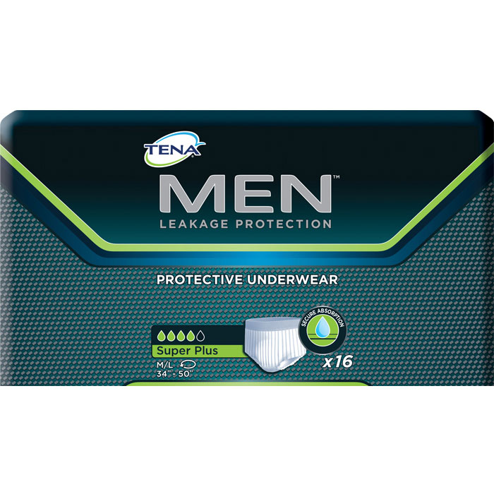 Tena Mens Underwear for Heavy Incontinence