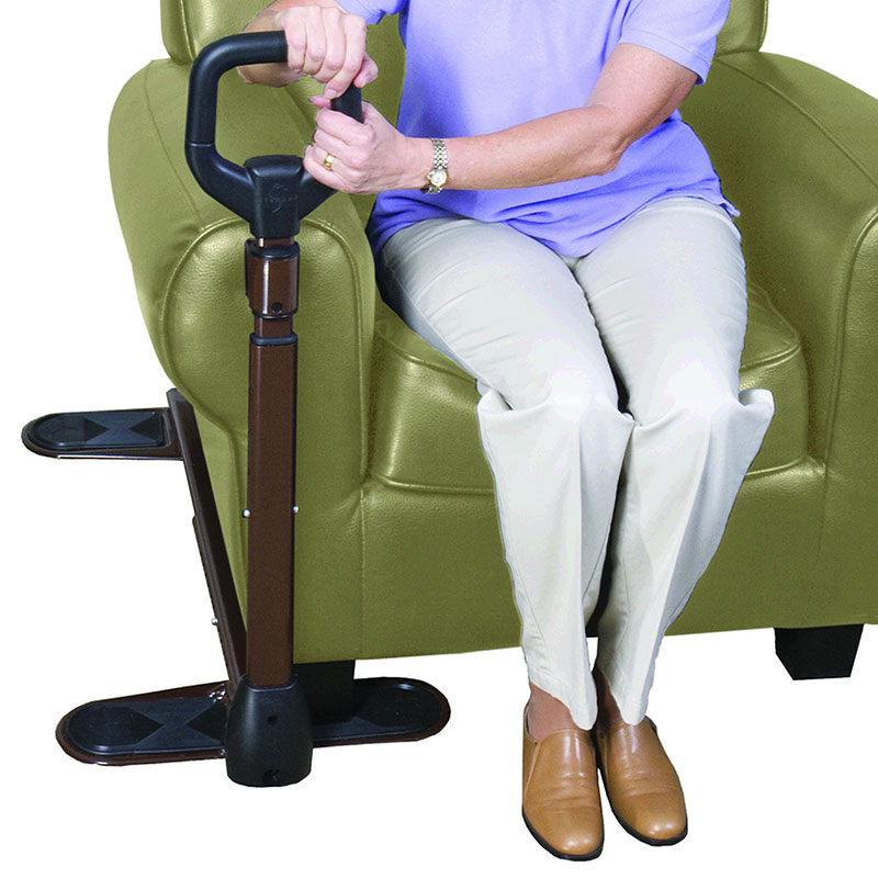Stander Couch Cane Support Handle With Pouch