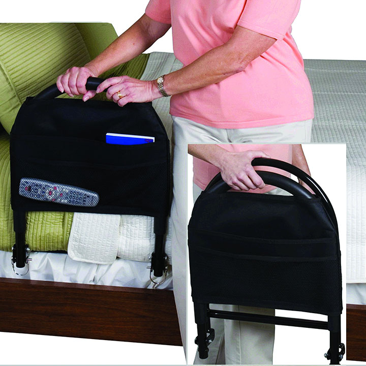 Stander Bed Rail Advantage With Pouch