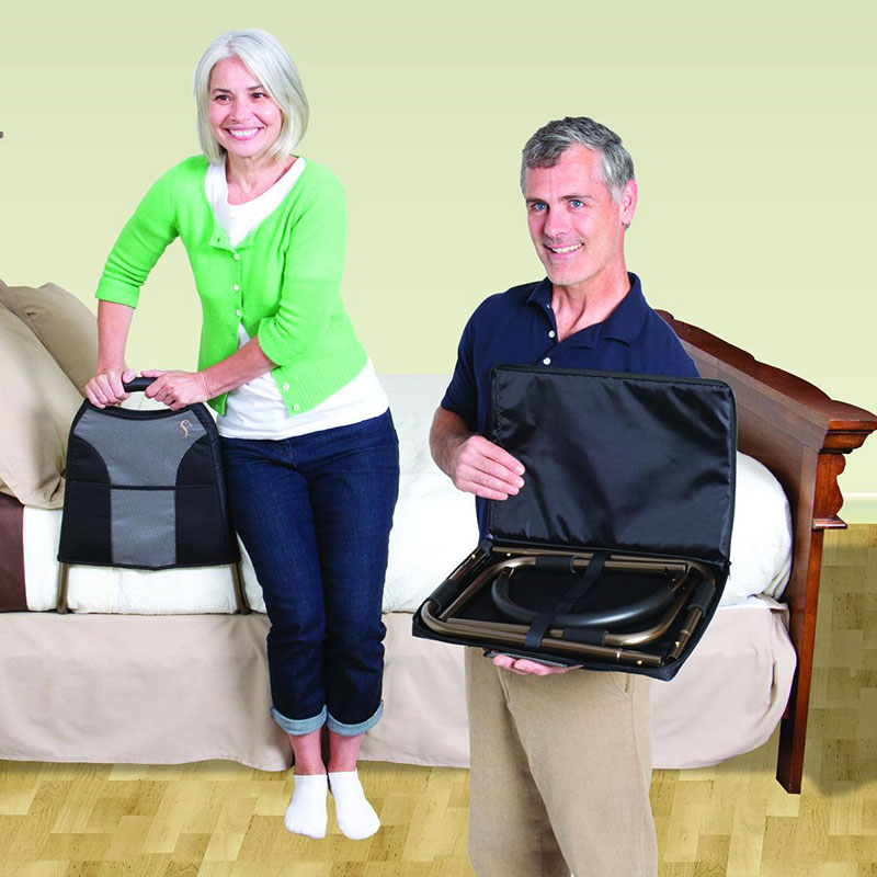 Stander Bedside Econorail With Pouch