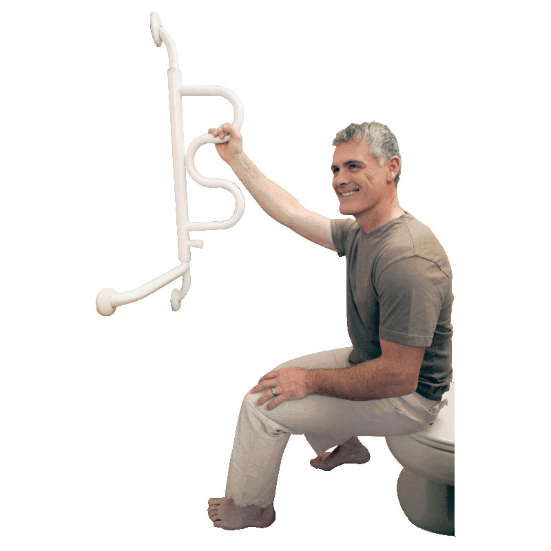 Stander Curve Pivoting Grab Bar