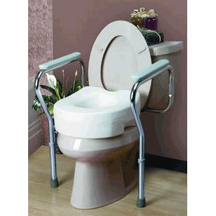 Cardinal Health Adjustable Toilet Safety Frame