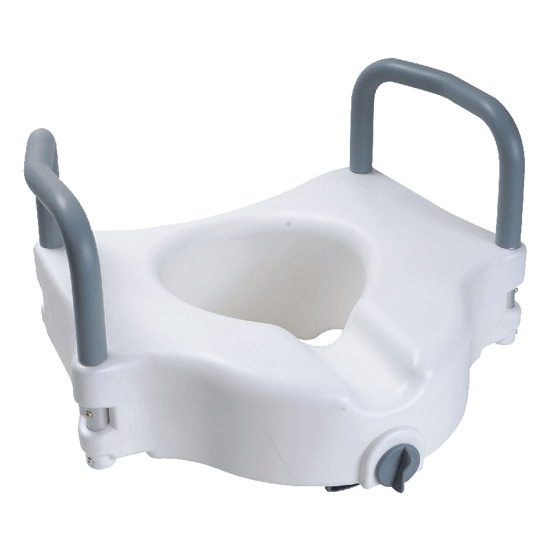 Cardinal Health Raised Toilet Seat With Arms