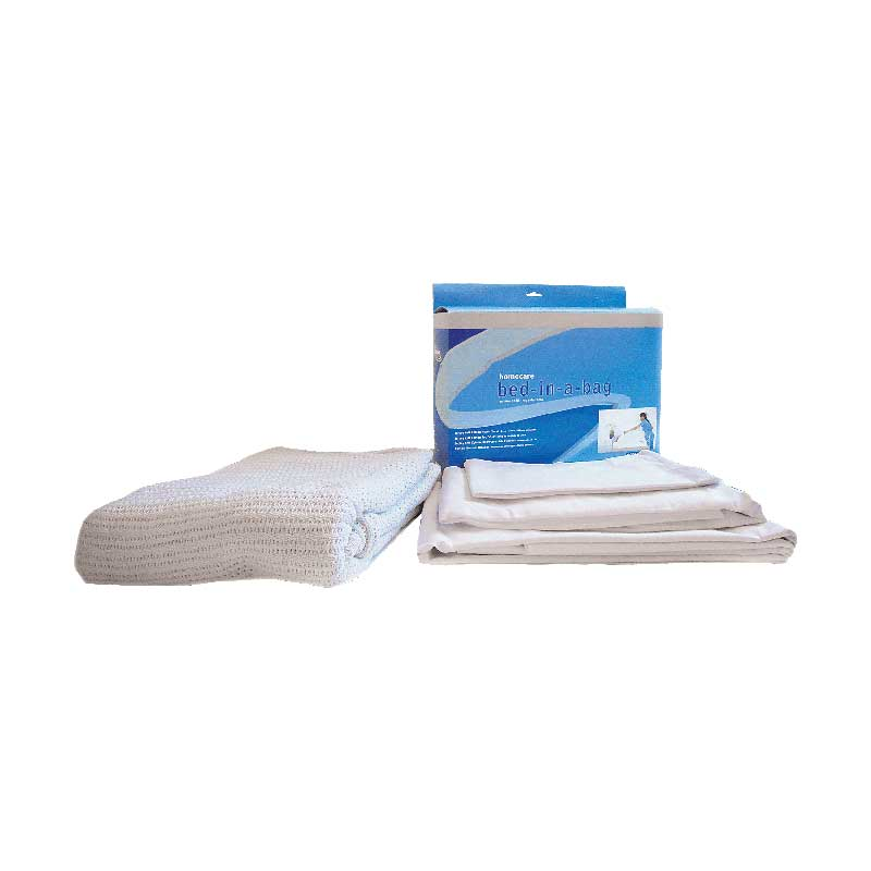 Cardinal Health Essentials Bariatric Bed In A Bag Sheet Set For Hospital  Beds