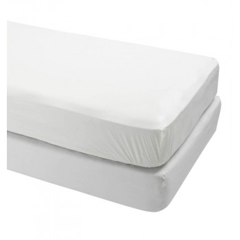 Cardinal Health Fitted Vinyl Mattress Protector for Hospital Beds