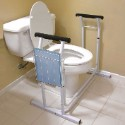 Jobar Deluxe Toilet Safety Support Frame