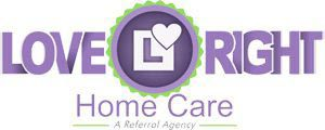 Company Logo for Love Right Home Care