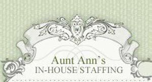 Company Logo for Aunt Ann'S Home Care