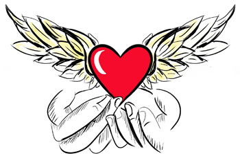 Company Logo for Comforting Angels