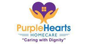 Company Logo for Purple Hearts Homecare