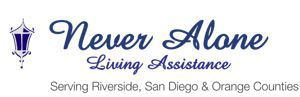 Company Logo for Never Alone Living Assistance