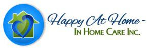 Company Logo for Happy At Home - In Home Care Inc.