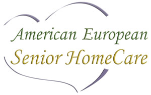 Company Logo for American European Senior Home Care